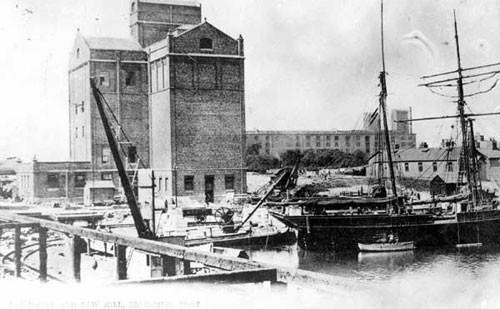 image c03225 ellesmere port basin & flour mill