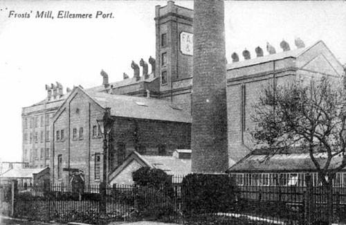 image c02973 frost's mill, ellesmere port 1910's