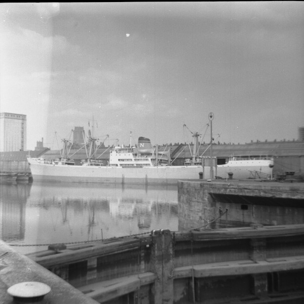 image 28 - nigerian national shipping line vessel in brunswick dock(south docks)liverpool
