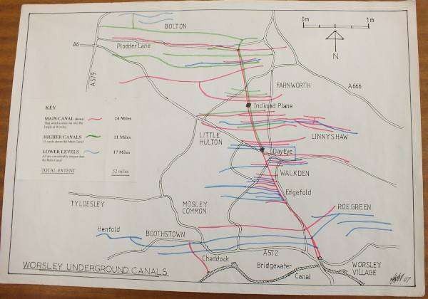 image schematic diagrams of underground canals, worsley_2