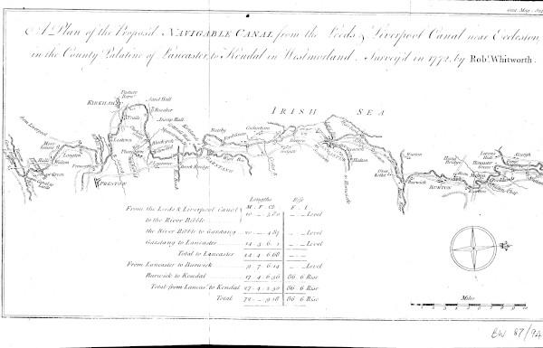 image bw87-94 - l&l eccleston to kendal 1772