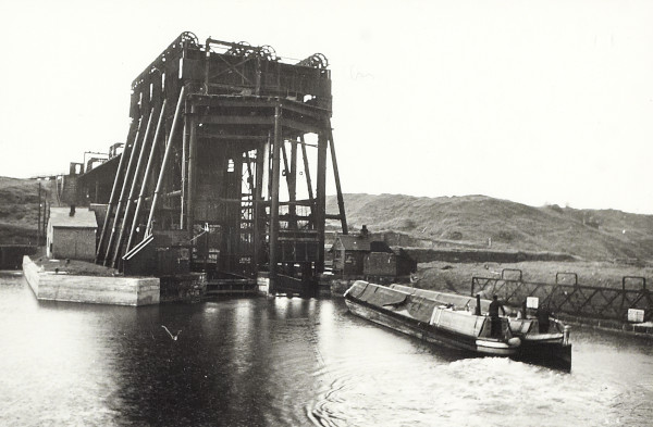 The Anderton Boat Lift on the Trent & Mersey Canal