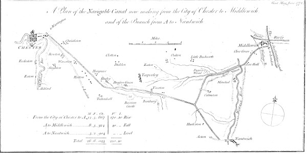 image bw1842-94 - chester to middlewich 1772