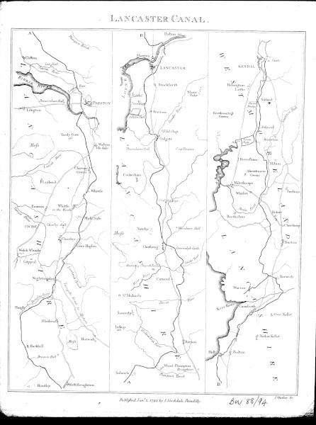 image bw88-94 - lancaster canal 1795